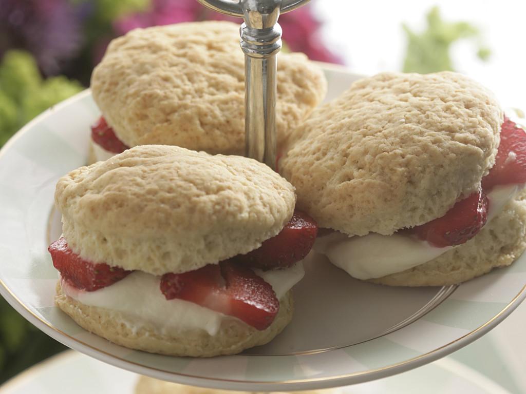 Jordbær shortcakes